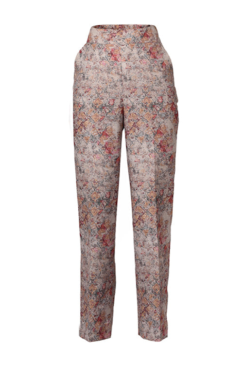 The Premium Quintessential collection - Raw silk Formal Pant