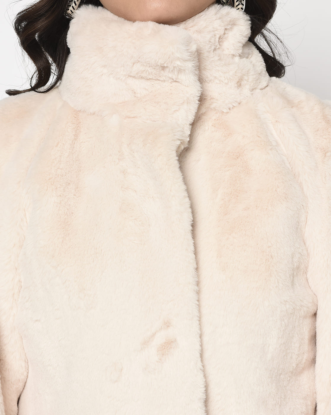 Off-White Fur Jacket