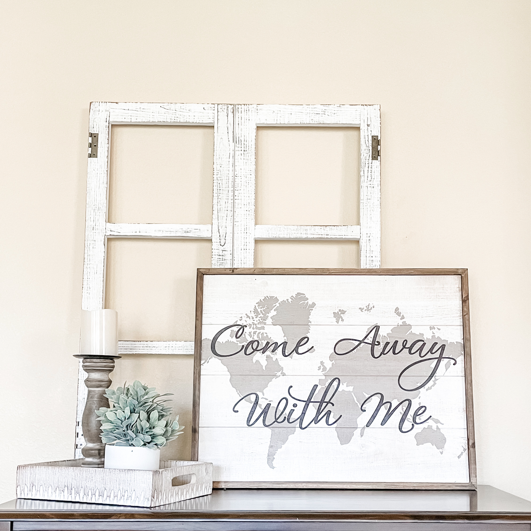 Come Away With Me Mantel Kit