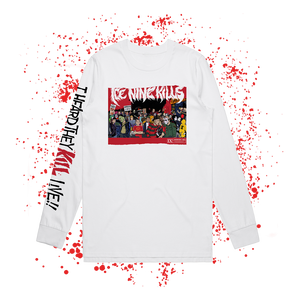 I Heard They KILL Live!! Longsleeve (White) // PREORDER
