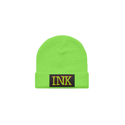 INK Beanie (Fluorescent Green) // PREORDER