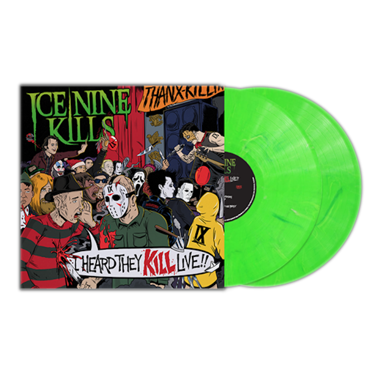 I Heard They KILL Live!! 2LP Vinyl (Fluorescent Green)
