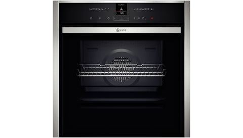 NEFF B57CR23N0B Built In Electric Oven Stainless Steel - Sold as an agent of Euronics Ltd