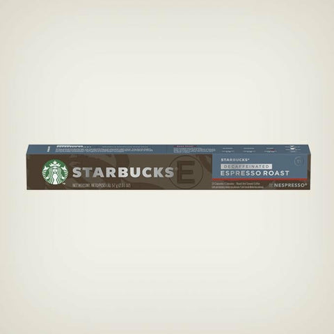 STARBUCKS® DECAF ESPRESSO® ROAST BY NESPRESSO®