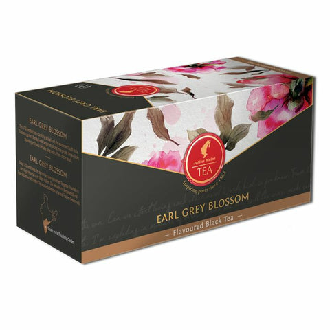 UTZ black tea Earl Grey blossom - 18 premium leaf tea bags