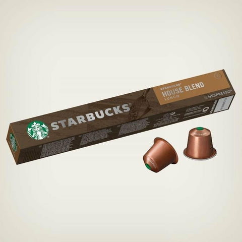 STARBUCKS® HOUSE BLEND LUNGO BY NESPRESSO®