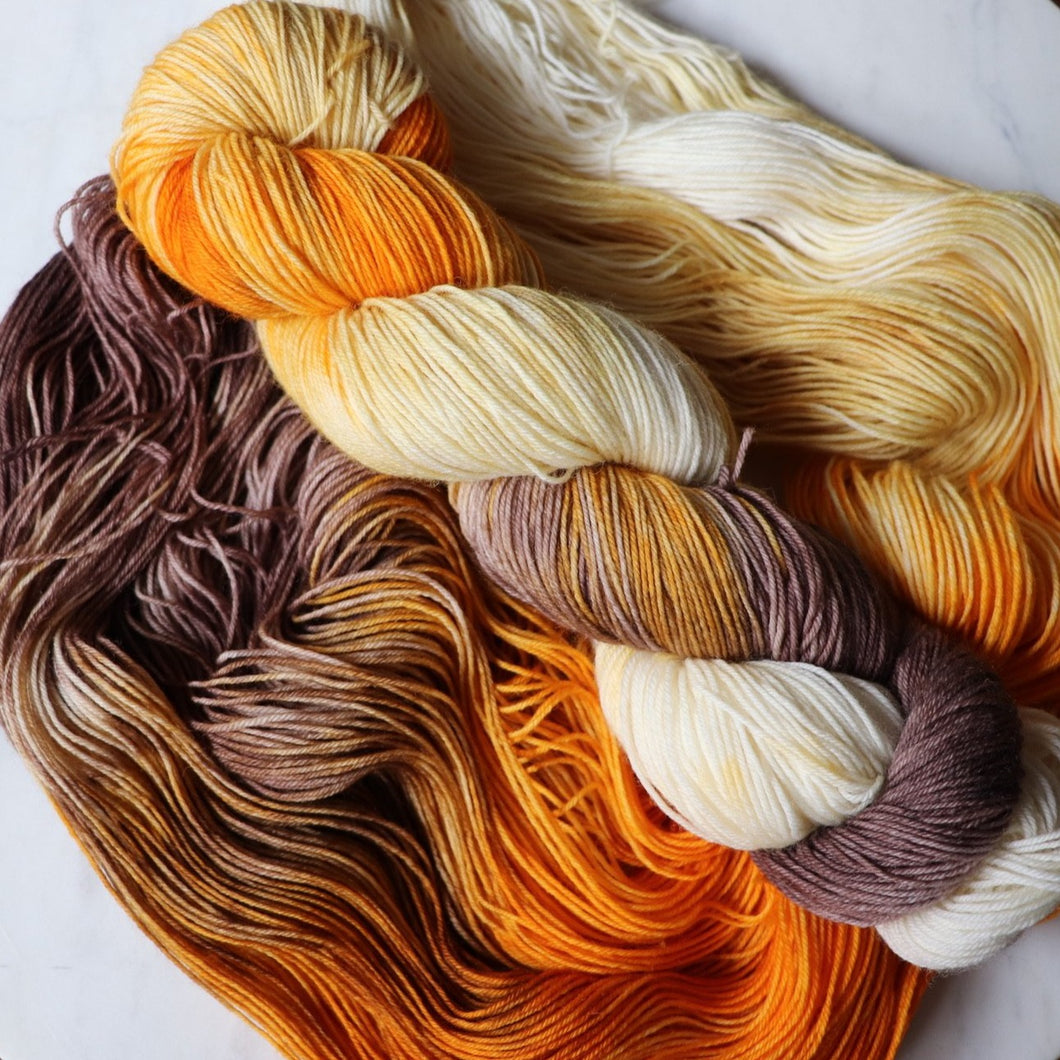 Autumn - Fingering weight yarn