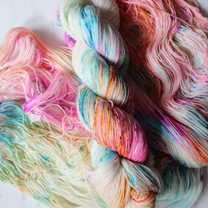 Funfetti - Fingering weight yarn