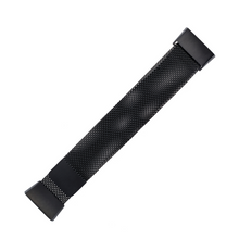 将图片加载到图库查看器,WITHit | Stainless Steel Mesh Band for Fitbit Charge 3/4 - Black - Hutton