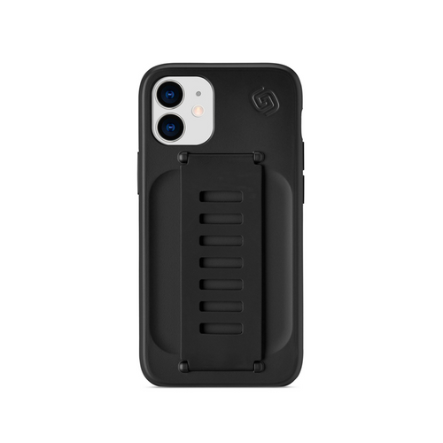 Grip2u | iPhone 12 Mini SLIM - Charcoal/Clear - Hutton