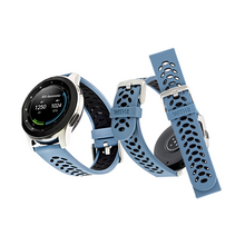 Load image into Gallery viewer, WITHit | Samsung, Garmin, Fossil smartwatch pack (22mm) Bluestone/Black + Black - Hutton