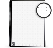将图片加载到图库查看器,Rocketbook Core Dot Grid | Executive A5 - Midnight Blue - Hutton