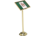 Menu Stand - Portable Podium Easel