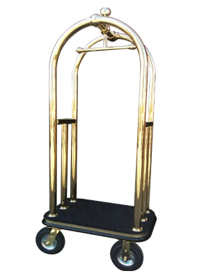 Mini Goyard Brass Bell Cart