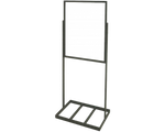 Easel Sign Stand with Rectangle Base