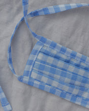 Load image into Gallery viewer, THE CAMP MASK, blue plaid