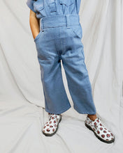 Load image into Gallery viewer, High waisted denim pants for toddlers and kids. Two pockets