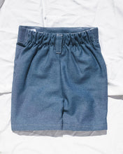 Load image into Gallery viewer, Play Hard Shorts Dark Denim