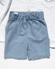 Load image into Gallery viewer, Denim short for toddlers and kids/ High waisted and 2 pockets.