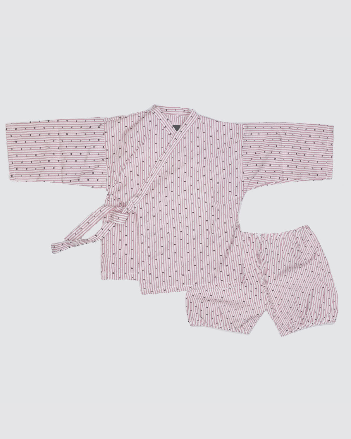 Madras set kimono shirt and bloomer for babies and toddlers
