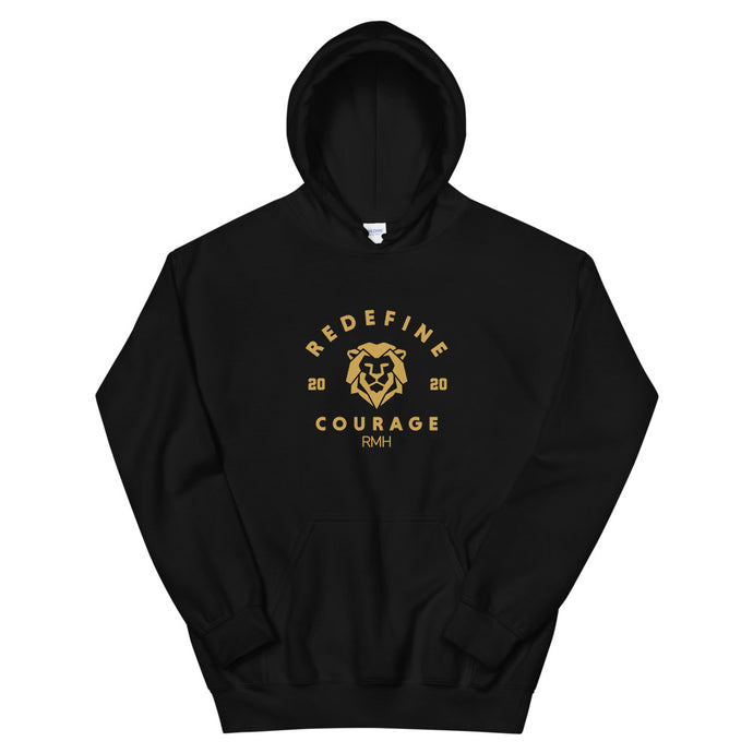 Courage Varsity Hoodie - Spirit of Mental Health
