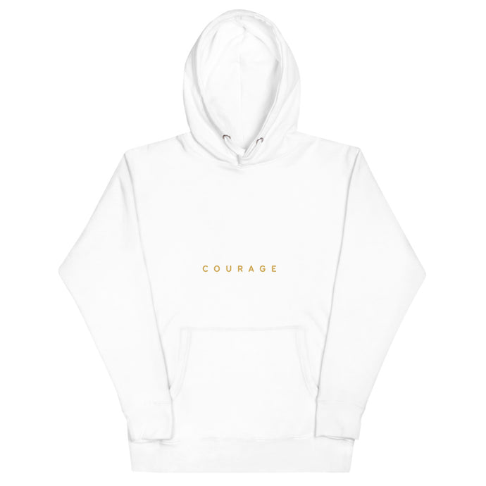 Courage Basic Hoodie - Spirit of Mental Health