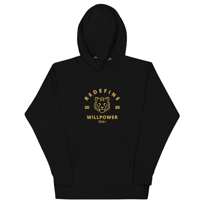 Willpower Varsity Hoodie - Spirit of Mental Health