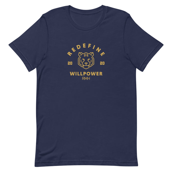 Willpower Varsity T-Shirt - Spirit of Mental Health