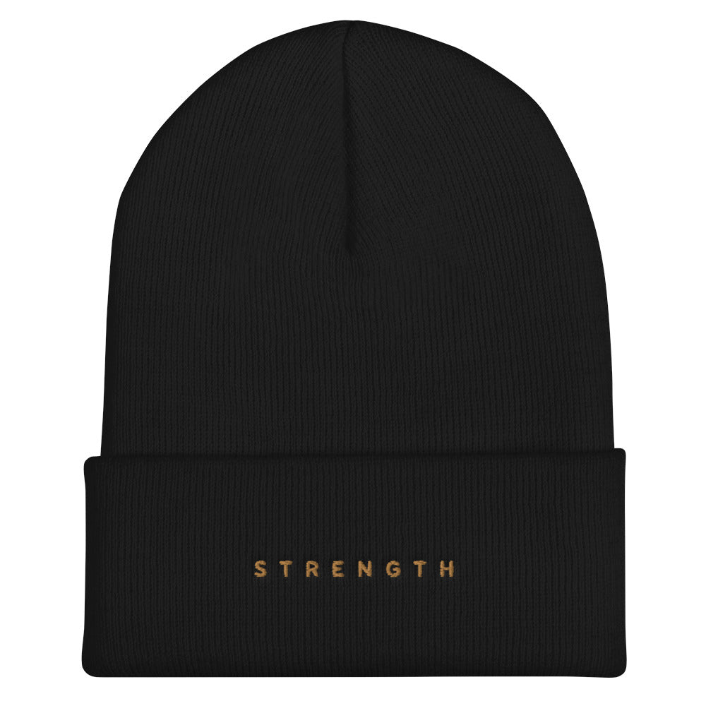 Strength Cuffed Beanie - Spirit of Mental Health