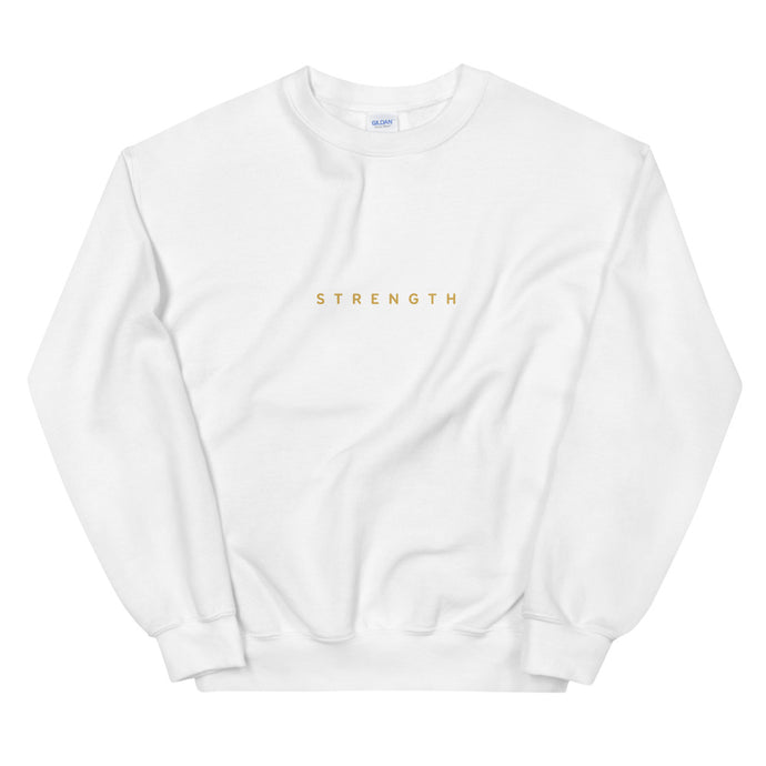 Strength Basic Sweatshirt - Spirit of Mental Health
