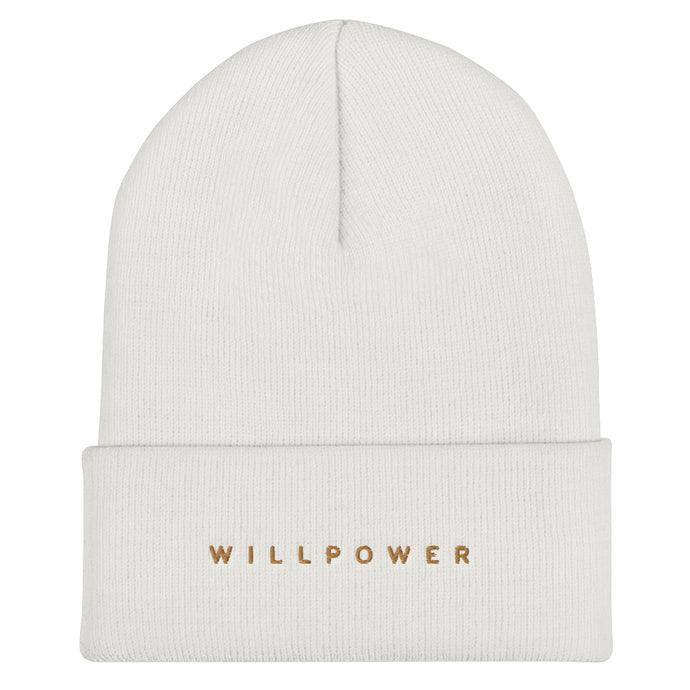 Willpower Cuffed Beanie - Spirit of Mental Health