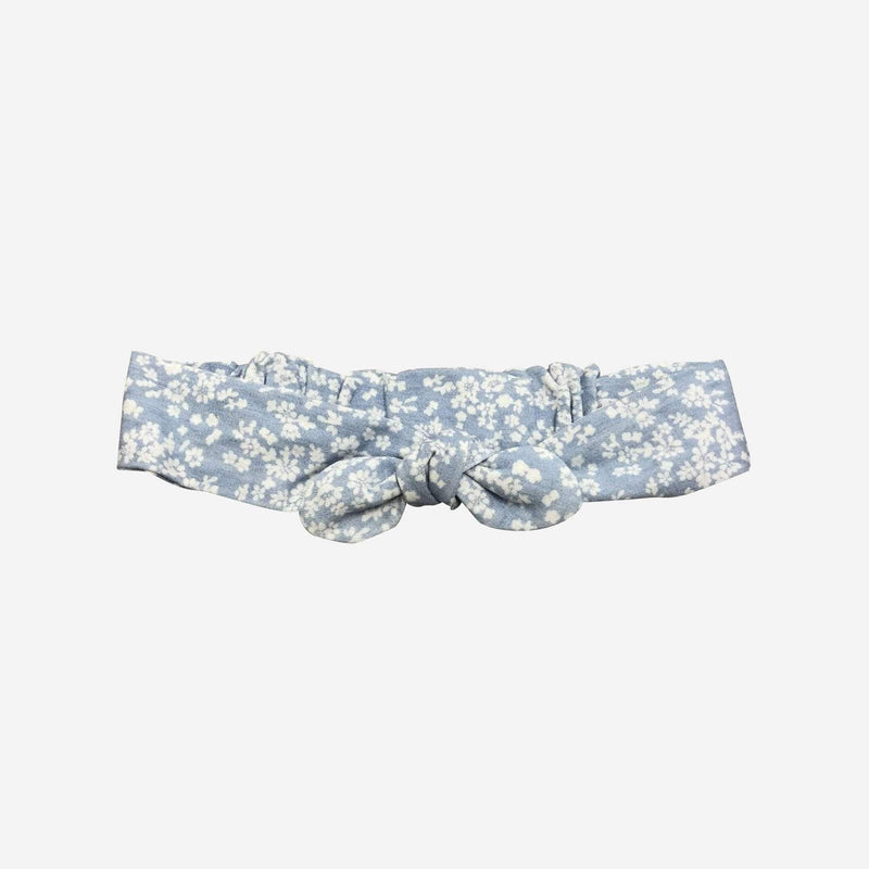 Girls Headband - Blue Floral