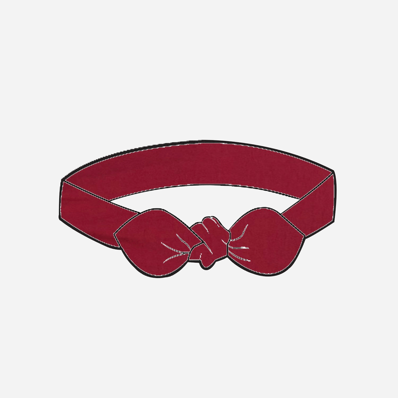 Girls Headband - Red