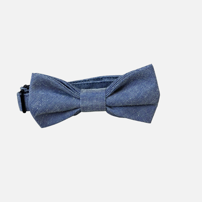 Boys Bow Tie - Chambray - Size OS