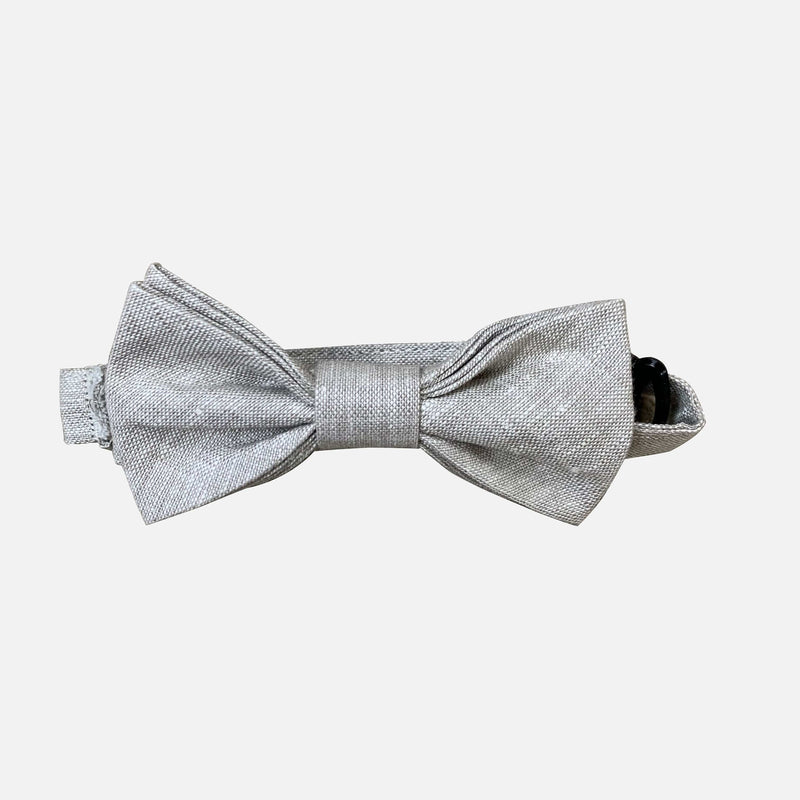Boys Little Man Bow Tie - Herringbone - Size OS