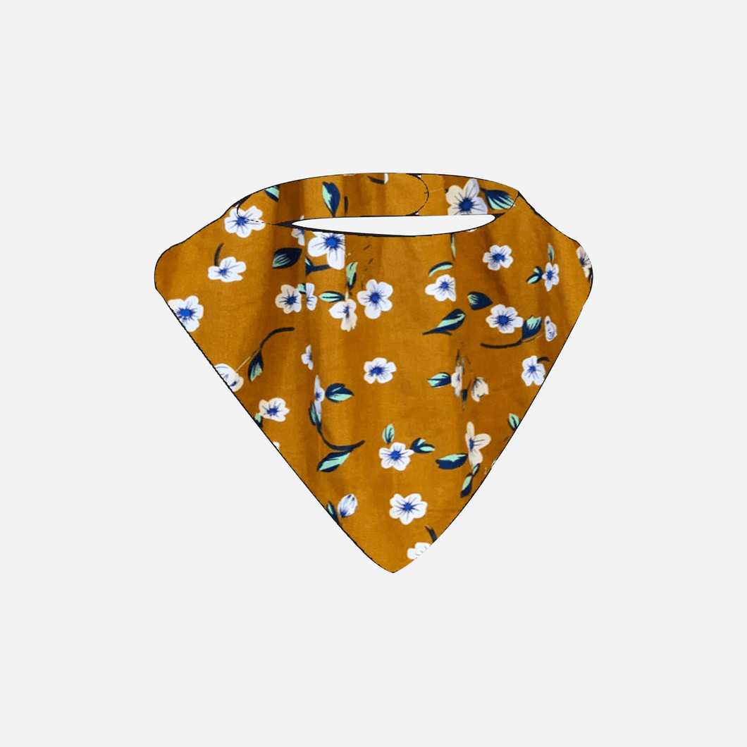 Love Henry Accessories One Size Girls Dribble Bib - Bronze Floral