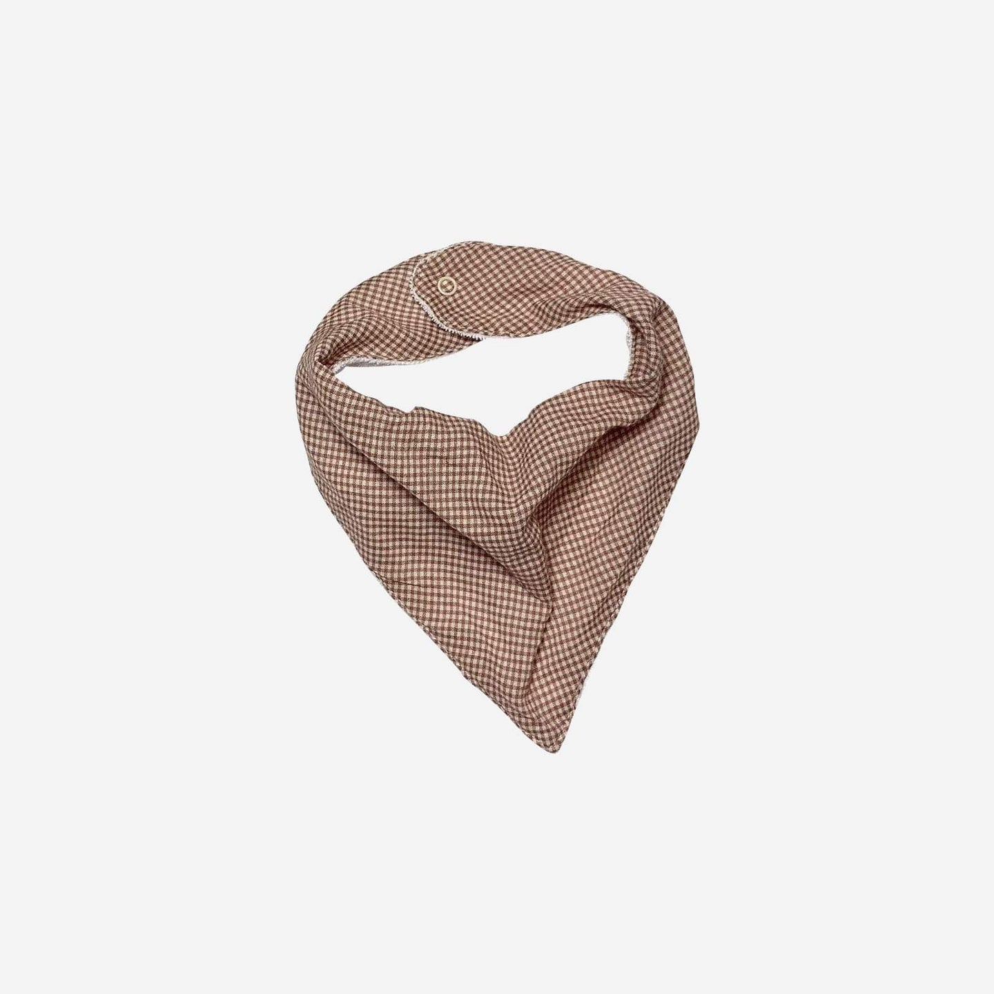 Love Henry Accessories One Size Girls Dribble Bib - Pink Gingham - Size OS
