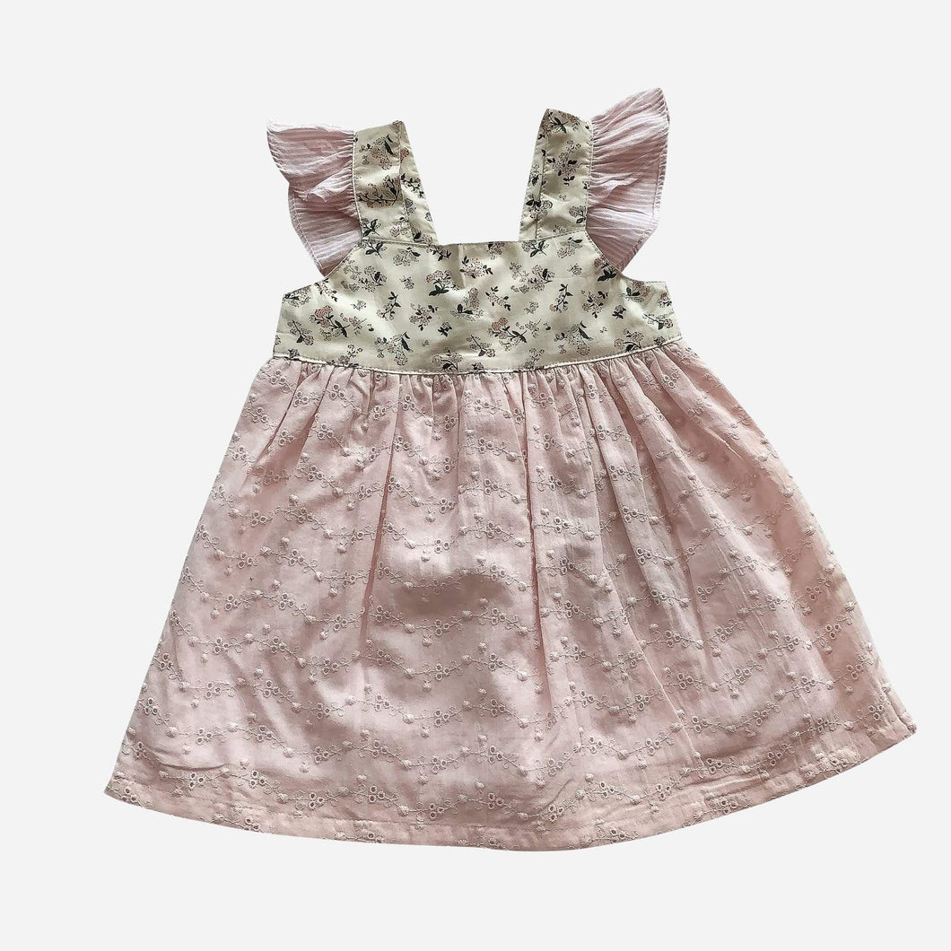 Love Henry Dresses Baby Girls Hattie Dress - Sweet Life