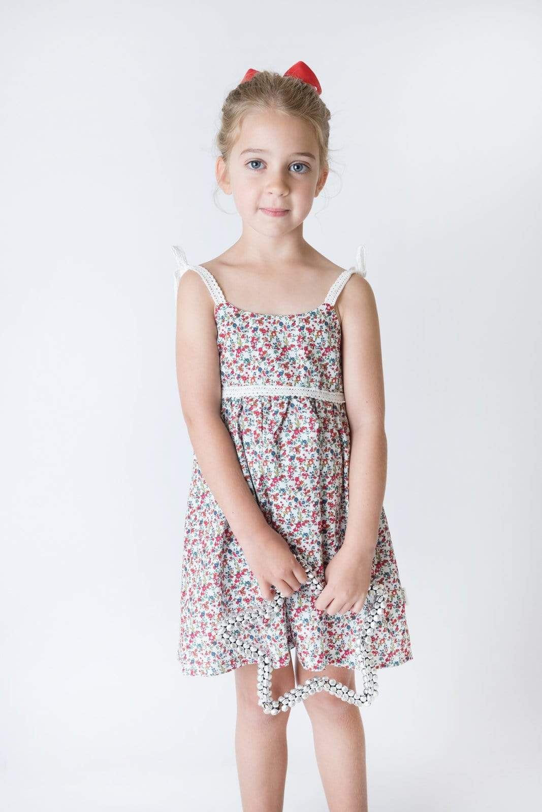 Love Henry Dresses Girls Eden Dress - Garden Floral