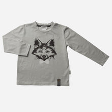 Load image into Gallery viewer, Love Henry Tops Baby Boys LS Fox Graphic Tee