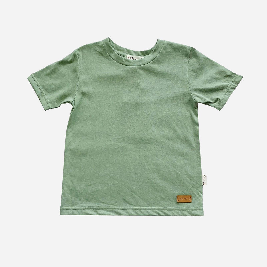 Love Henry Tops Baby Boys Plain Tee - Green