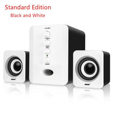 Load image into Gallery viewer, D-202 USB Wired Bluetooth Speaker Set Computer Speakers Bass Music Player Subwoofer Sound Box for Desktop Laptop PC Smart Phone