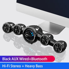 Load image into Gallery viewer, 2020 Airplane Bluetooth Speaker Wireless Wired Subwoofer Support AUX Heavy Bass Desktop PC Gaming Computer Speakers for Phone