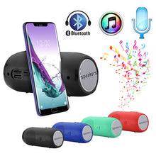 Load image into Gallery viewer, HIFI Portable Wireless Bluetooth Speaker Stereo Sound Bar TF FM Radio Subwoofer Column Speakers for Computer Phones