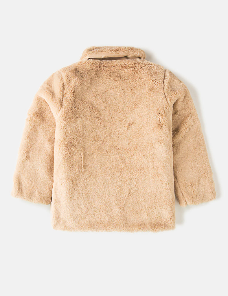 Faux Fur Jacket (6273956020376)