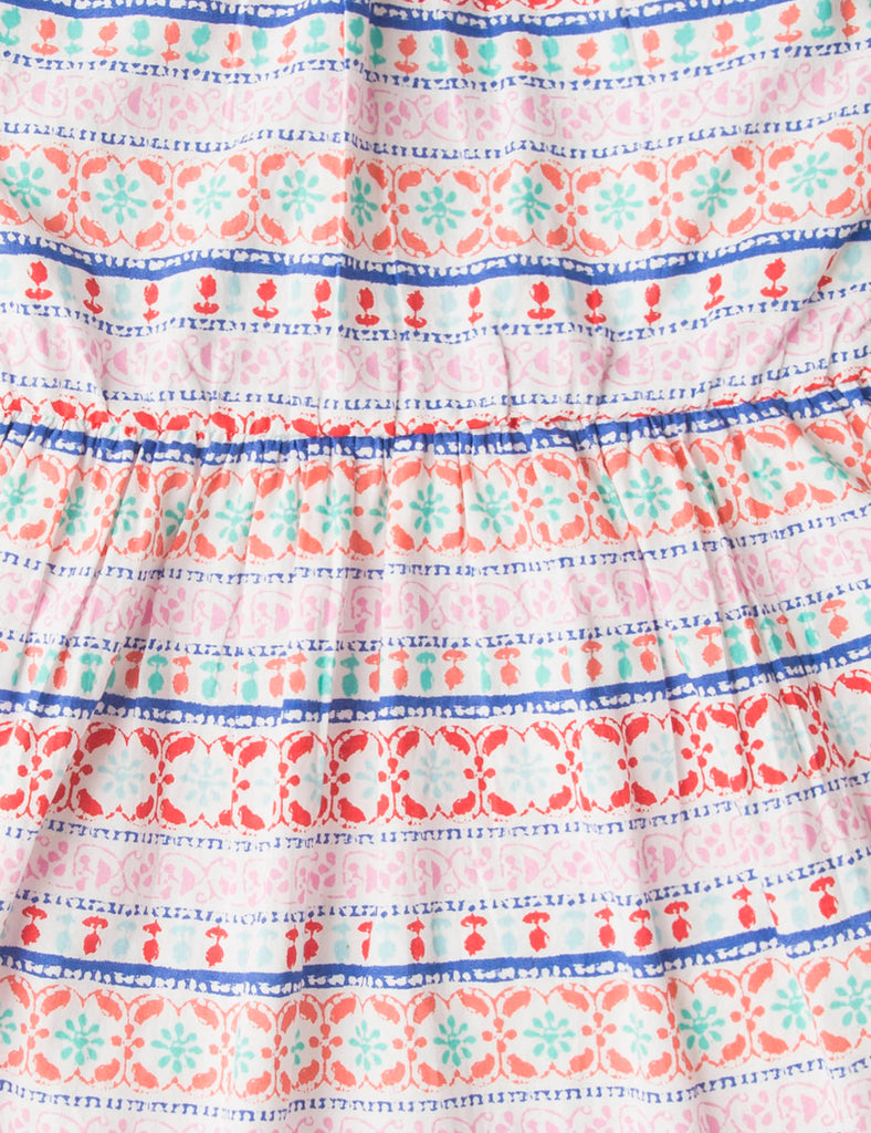 Printed Raglan Dress