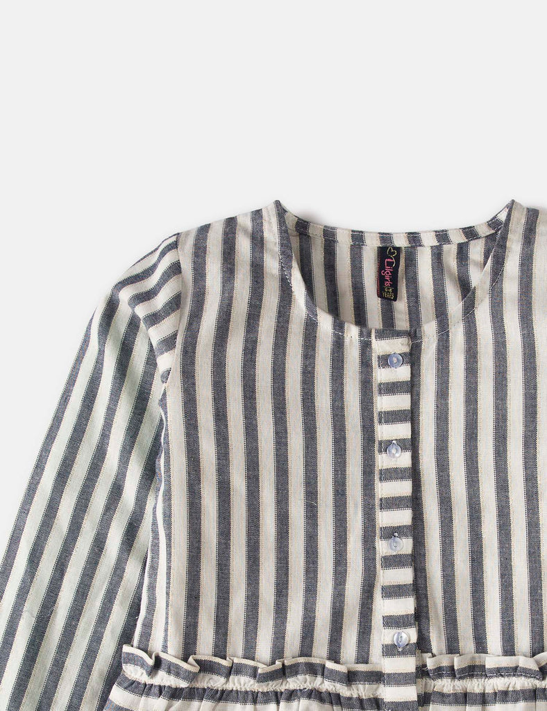 Metallic Stripes Top