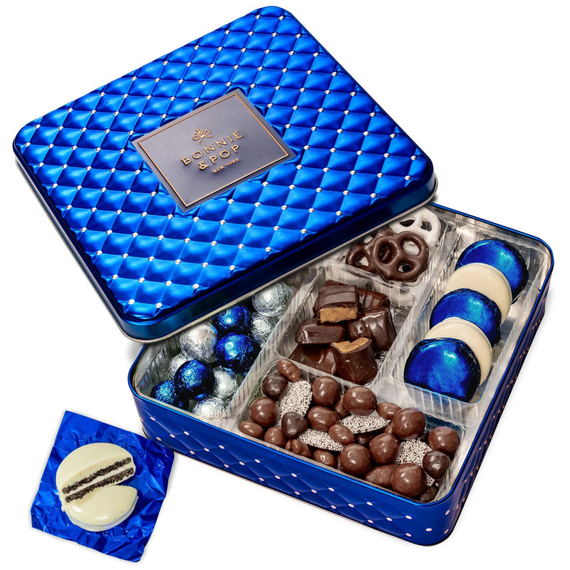 Hanukkah Gift Basket - Chocolate & Nuts