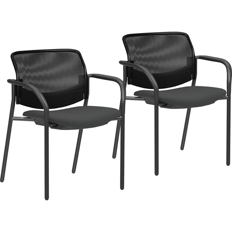 Lorell Guest Chairs with Mesh Back - 83112