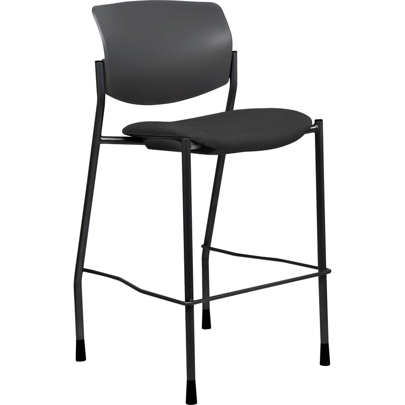 Lorell Fabric Seat Contemporary Stool - 83119